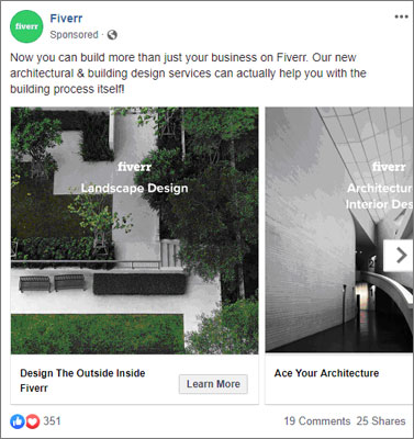 Facebook-Carousel Ads